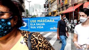 Brasil tem 65.487 mortes e 1,6 milhão de casos da covid-19