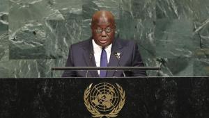 Presidente de Gana se isola após pessoa próxima contrair a Covid-19