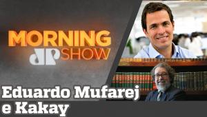 EDUARDO MUFAREJ E KAKAY - MORNING SHOW - AO VIVO - 31/07/20