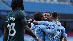 Gabriel Jesus marca, e City massacra o Newcastle em casa
