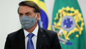 'Não tem que ter pânico', diz Bolsonaro à Jovem Pan após testar positivo para Covid-19