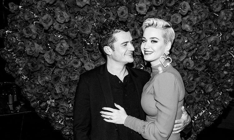 Grávida, Katy Perry adia casamento com Orlando Bloom pela segunda vez