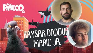 KAYSAR DADOUR E MARIO JR. (IZMAARIO)- PÂNICO - AO VIVO - 14/07/20