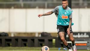 Ainda sem Jô, Corinthians faz 1º treino tático da intertemporada