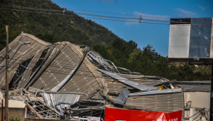 Planalto confirma viagem de Bolsonaro a Santa Catarina para ver estragos do ciclone