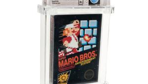 Cartucho de Super Mario Bros. é vendido por mais de R$ 600 mil e quebra recorde