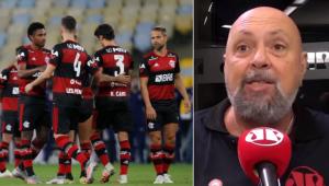 'O Flamengo jogou com soberba e tomou uma lição do Fluminense', dispara Nilson Cesar
