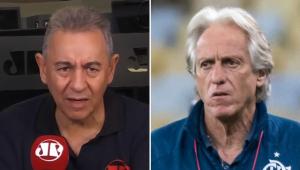 'Se Jorge Jesus sair, o Flamengo vai entrar em parafuso', dispara Flavio Prado