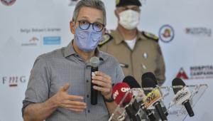 Hospital de campanha de Belo Horizonte começa a funcionar na segunda-feira, diz Zema