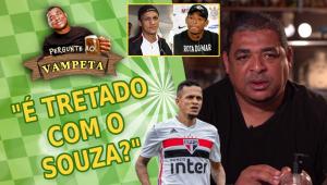 'É tretado com o Souza, ex-São Paulo?' Vampeta abre o jogo