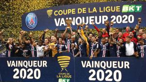 Nos pênaltis, PSG bate o Lyon e fatura a Copa da Liga Francesa