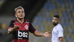 Rafinha, do Flamengo, pode estar de malas prontas para o Olympiakos