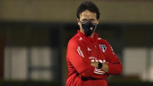 Fernando Diniz explica motivo de Pato ter virado reserva no São Paulo; entenda