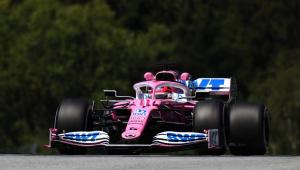 Sergio Pérez surpreende e lidera 1º treino livre do GP da Estíria de F-1