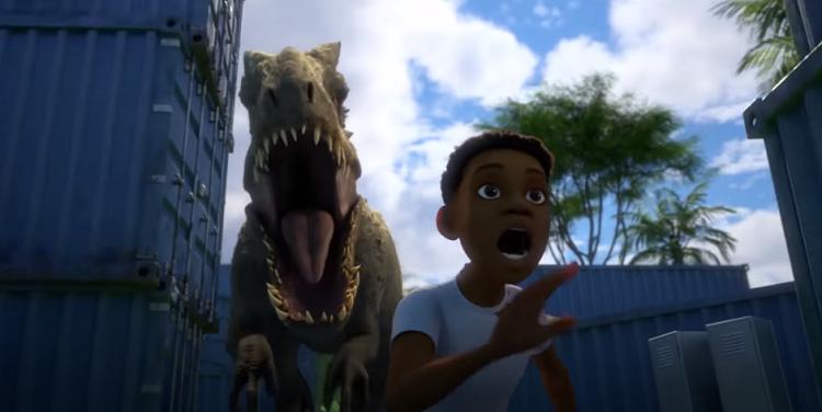 Dinossauros estragam férias em teaser da série animada de 'Jurassic World'