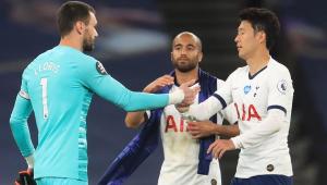 Lloris e Son brigam, e Tottenham vence com gol contra no Inglês