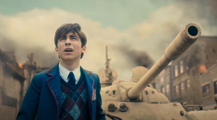 'The Umbrella Academy': Netflix libera cena inicial eletrizante da 2ª temporada