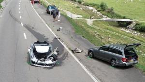 Acidente na Suíça destrói carros de luxo e causa prejuízo de R$ 22 milhões