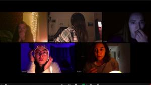 Filme de terror mostra espírito invadindo chamada de vídeo de amigos na quarentena