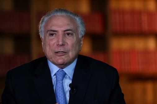 Temer quer que Brasil conduza recomposição política do Líbano