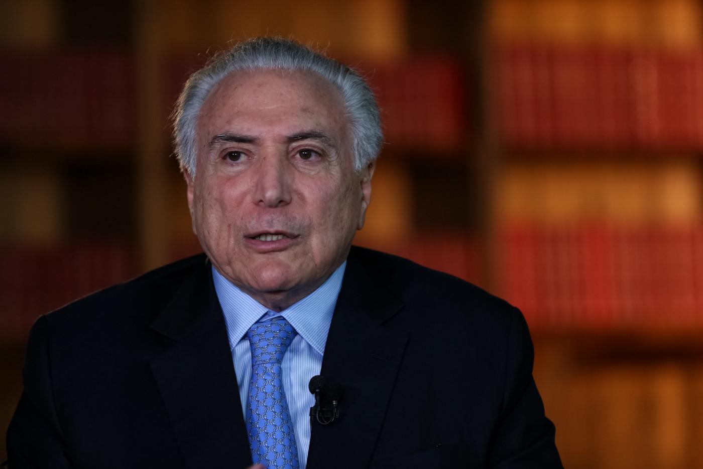 O ex-presidente Michel Temer falou sobre a prisão do deputado federal Daniel Silveira