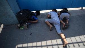 Gaza: Escola da ONU é atingida por míssil israelense em resposta a balões incendiários