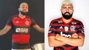 Fora de forma? Vídeo do Flamengo gera piadas: 'O Gabigol tá virando o Gabigordo'