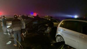 Engavetamento em São José dos Pinhais deixa ao menos 8 mortos e 22 feridos
