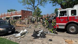 Explosão deixa morto e feridos em Baltimore nos EUA