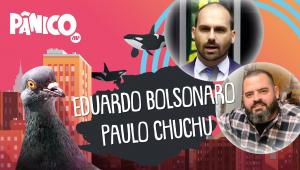 EDUARDO BOLSONARO E PAULO CHUCHU - PÂNICO - AO VIVO - 13/08/20