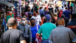 Na cidade de São Paulo, quase 14% da população já contraiu a Covid-19
