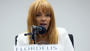 Flordelis é ouvida pela Corregedoria da Câmara e fala em erro nas investigações de assassinato