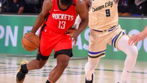 Rodada da NBA: Rockets superam grande atuação de Antetokounmpo e batem Bucks