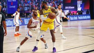 Rodada da NBA: Lakers perdem para o Thunder em péssima noite ofensiva