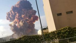 Imagens impressionantes mostram explosão em Beirute, no Líbano; assista