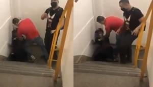 Vídeo: Jovem negro é acusado de furto e agredido por homens armados em shopping no Rio