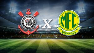 Corinthians x Mirassol: assista à transmissão da Jovem Pan ao vivo