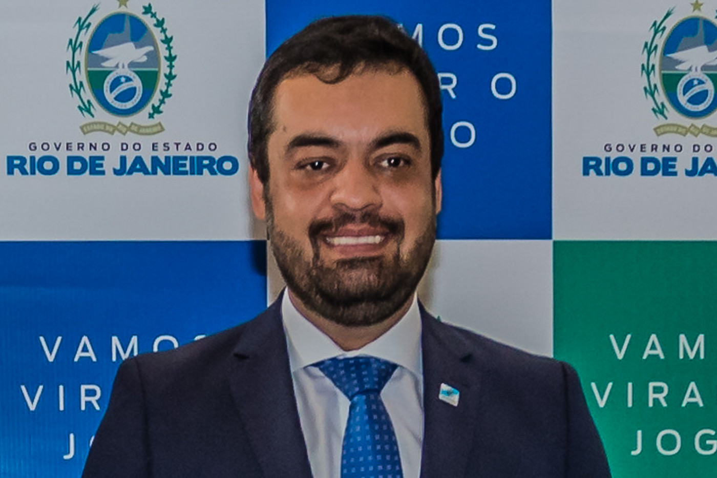 Cláudio Castro, governador em exercício do Rio