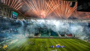 Reveja a narração de Nilson César do gol que deu o título ao Palmeiras