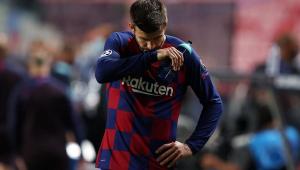 Piqué pede reformulação no Barcelona: 'Chegamos ao fundo do poço'