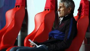 Sem acordo com Ramírez, Palmeiras estuda contratar Quique Setién, ex-técnico do Barça
