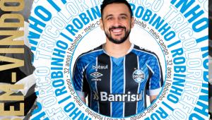 Ex-Cruzeiro, Robinho acerta com o Grêmio até o fim da temporada
