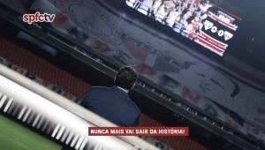 São Paulo homenageia Rogério Ceni em partida contra o Fortaleza