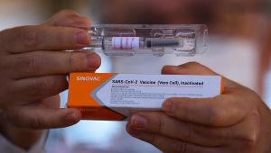 Coronavac é a vacina contra Covid-19desenvolvida pelo Instituto Butantan com tecnologia chinesa