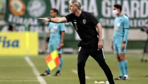 'Fizemos uma atuação de Corinthians, lutando até o final', diz Tiago Nunes