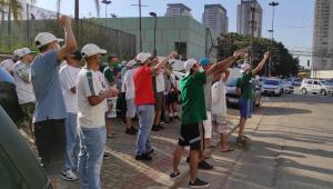 Árbitro da final é escolhido, e torcedores do Palmeiras protestam na FPF: 'Cadê o sorteio?'