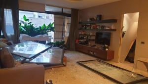 'Todas as janelas voaram, os vidros quebraram', conta libanês em Beirute