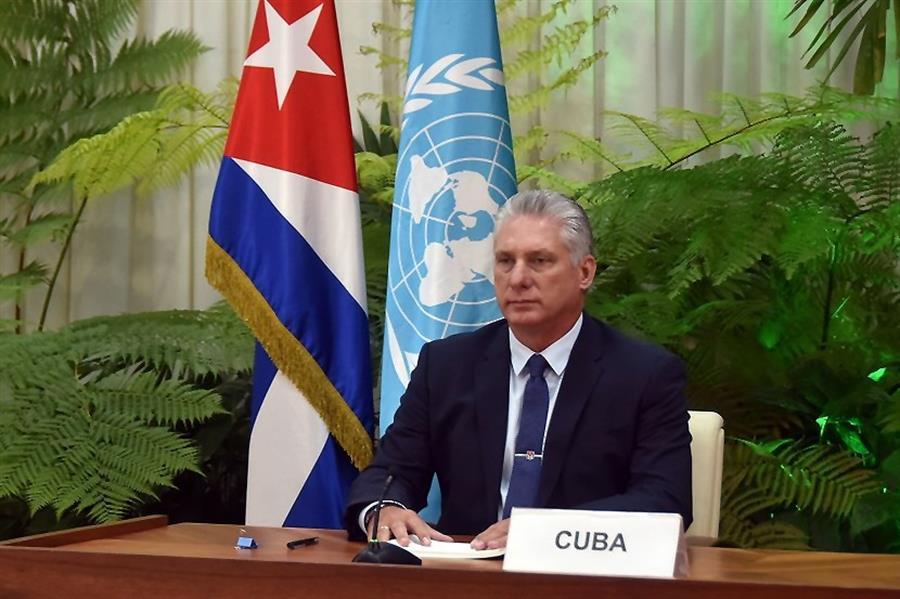 Presidente de Cuba repudia 'agressividade' dos EUA e defende médicos |  Jovem Pan