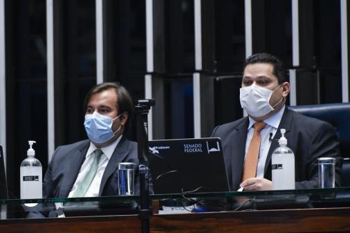 STF inicia nesta sexta julgamento que pode autorizar reeleição de Maia e Alcolumbre
