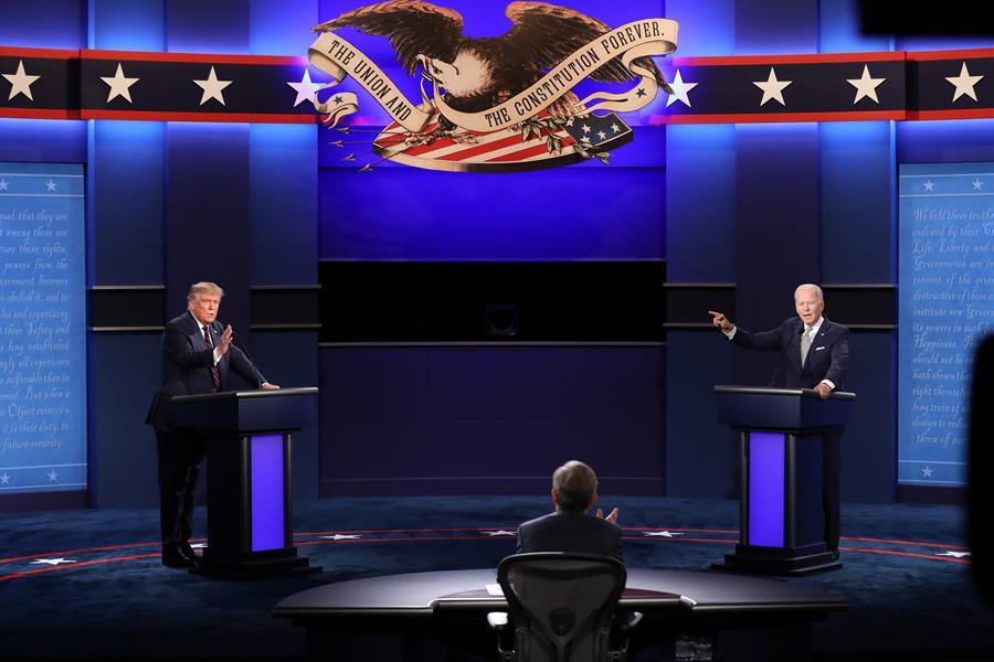 Eleições nos EUA: Debate entre Trump e Biden foi briga de família no Natal,  diz especialista | Jovem Pan